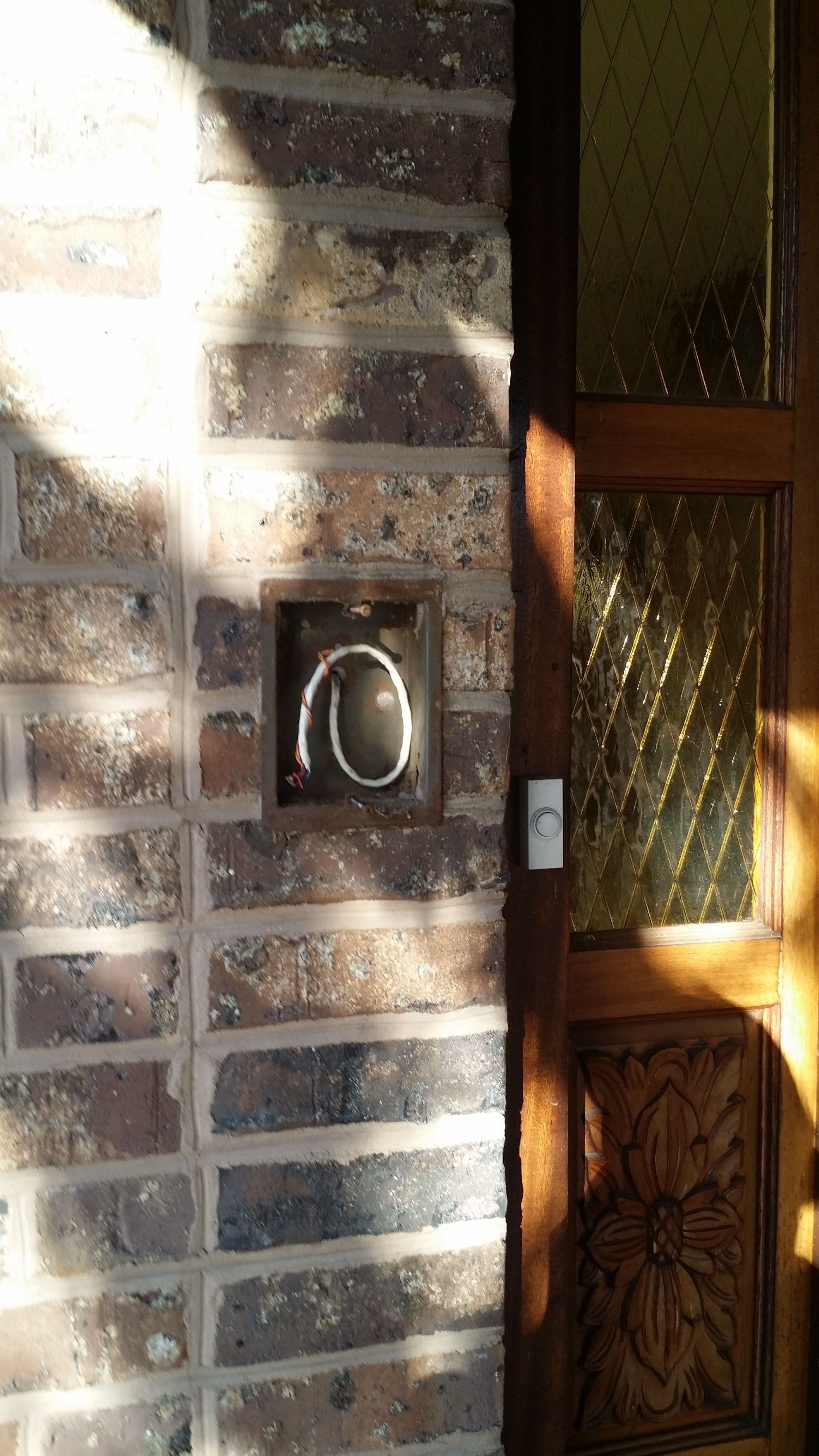 Old Doorbell Wiring Diagram