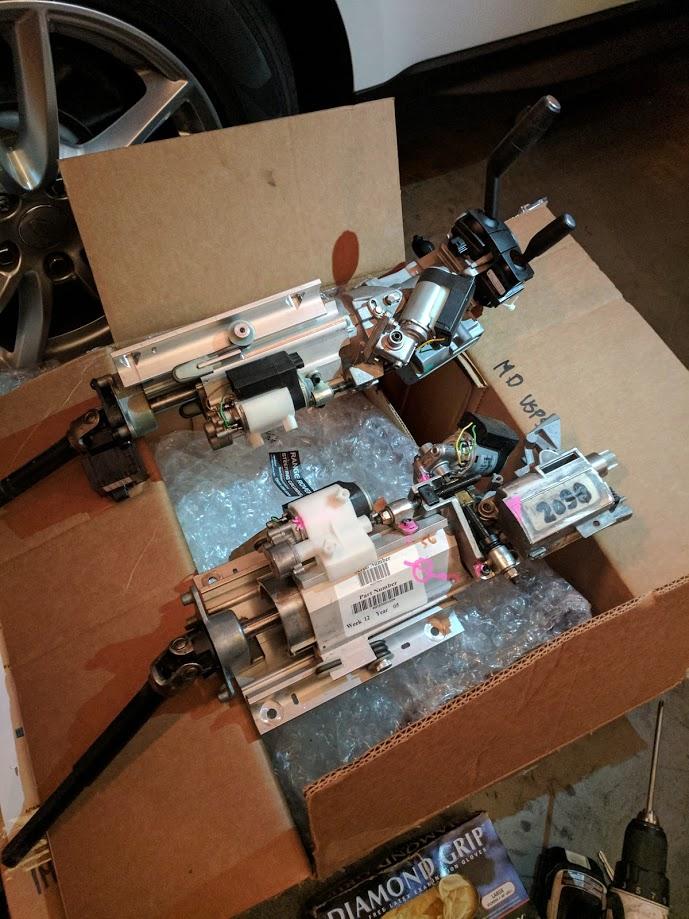 Land Rover Range Rover – Key won't turn, steering column