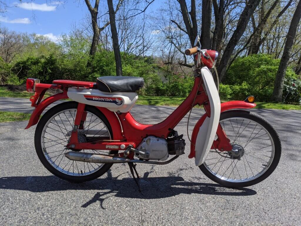 Honda PC50 Moped