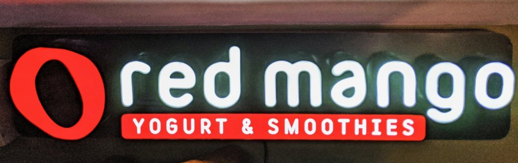 red mango sign
