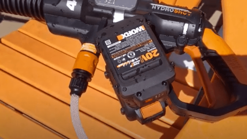 worx power cleaner