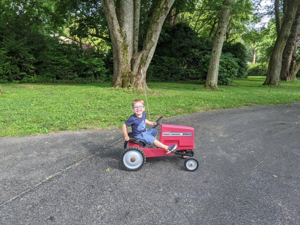Massey Ferguson Pedal Car
