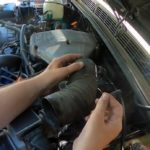 Range Rover Classic air intake hose