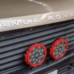 range rover classic hood letter attachment
