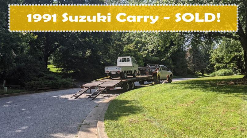 1991 Suzuki Carry Sold