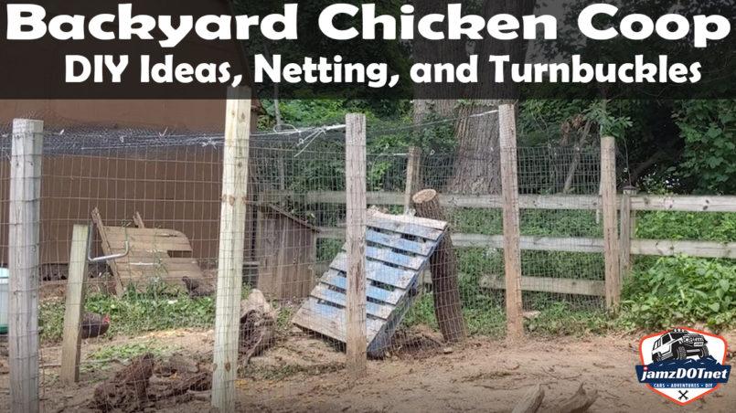 Backyard Chickens DIY Coop