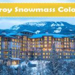Viceroy Snowmass Colorado Studio Room