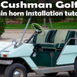 Train Horn on a golf cart