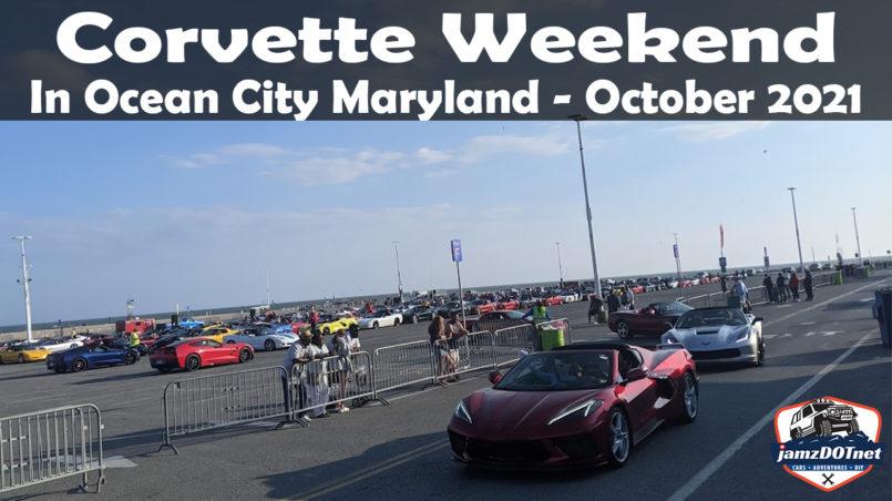 Ocean City Maryland Corvette Weekend
